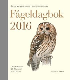 Fågeldagbok 2016
