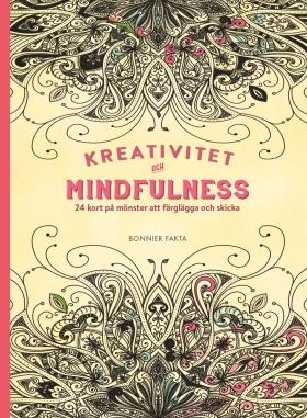 Kreativitet och mindfulness – 24 kort på inspirerande mönster att färglägga och skicka
