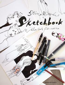 Sketchbook Målarbok för vuxna
