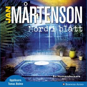 Ljudbok Mord i blått av Jan Mårtenson