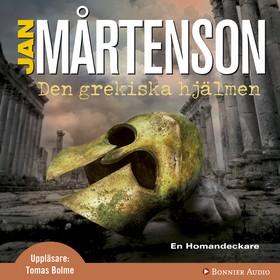 Ljudbok Den grekiska hjälmen av Jan Mårtenson