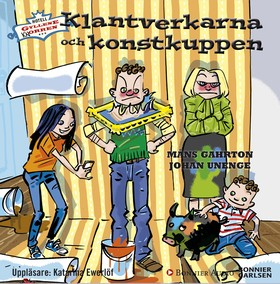 Ljudbok Klantverkarna och konstkuppen av Måns Gahrton