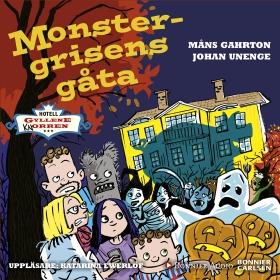 Ljudbok Monstergrisens gåta av Måns Gahrton