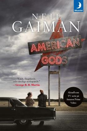 American Gods (svensk utgåva) av Neil Gaiman