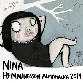 Nina Hemmingsson almanacka 2014 av Nina Hemmingsson