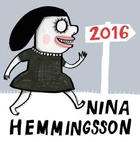 Nina Hemmingsson Almanacka 2016 av Nina Hemmingsson