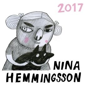 Nina Hemmingsson Almanacka 2017 av Nina Hemmingsson