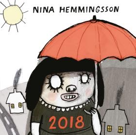 Nina Hemmingsson Almanacka 2018 av Nina Hemmingsson