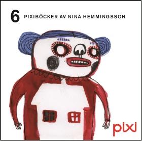 6 Pixiböcker av Nina Hemmingsson av Nina Hemmingsson