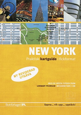 New York - kartguide, ny utgåva