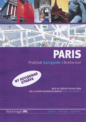 Paris - kartguide, ny utgåva