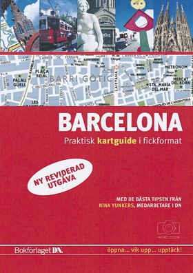 Barcelona - kartguide, ny utgåva