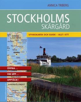 Stockholms skärgård : praktisk kartguide i fickformat av Annica Triberg