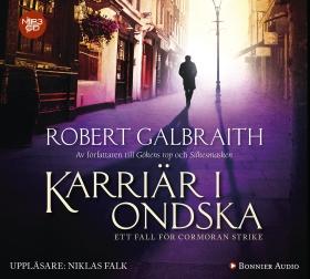 Ljudbok Karriär i ondska av Robert Galbraith