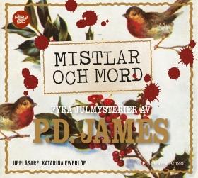 Ljudbok Mistlar och mord : fyra julmysterier av P. D. James
