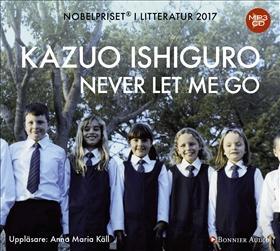 Ljudbok Never let me go av Kazuo Ishiguro