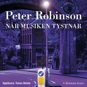 Ljudbok När musiken tystnar av Peter Robinson
