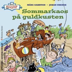 Sommarkaos på Guldkusten av Måns Gahrton