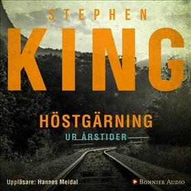 Ljudbok Höstgärning (Stand by me). En av berättelserna ur novellsamlingen Årstider av Stephen King