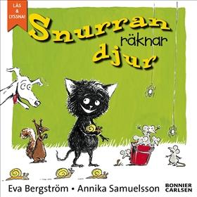 E-bok Snurran räknar djur av Eva Bergström