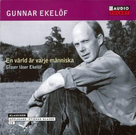 Ljudbok En värld är varje människa av Gunnar Ekelöf