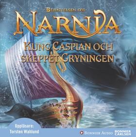 Ljudbok Kung Caspian och skeppet Gryningen av C.S. Lewis