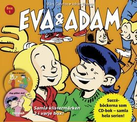 Ljudbok Eva & Adam Box 1 (Bok nr 1-2) av Måns Gahrton