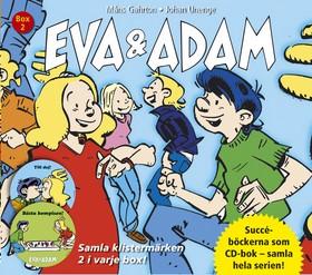 Ljudbok Eva & Adam Box 2 (Bok nr 3-4) av Måns Gahrton