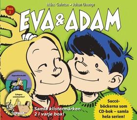 Ljudbok Eva & Adam Box 3 (Bok nr 5-6) av Måns Gahrton