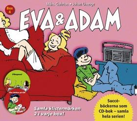 Ljudbok Eva & Adam Box 4 (Bok7-8) av Måns Gahrton