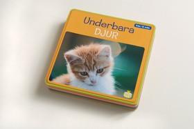 Underbara djur (skumbok med fotografiska djurbilder)