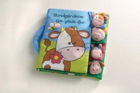 Bondgårdens glada djur (ljudbok i väska)