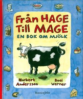 Omslag fr boken Frn hage till mage - en bok om mjlk