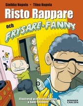 Omslag fr boken Risto Rappare och Frysare-Fanny