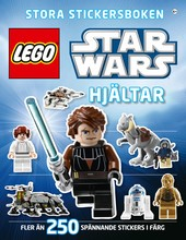 Omslag fr boken LEGO Star Wars stora stickersboken: Hjltar