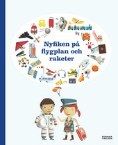 Omslag fr boken Nyfiken p flygplan och raketer