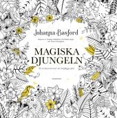 Magiska djungeln - ett tecknat äventyr att färglägga själv