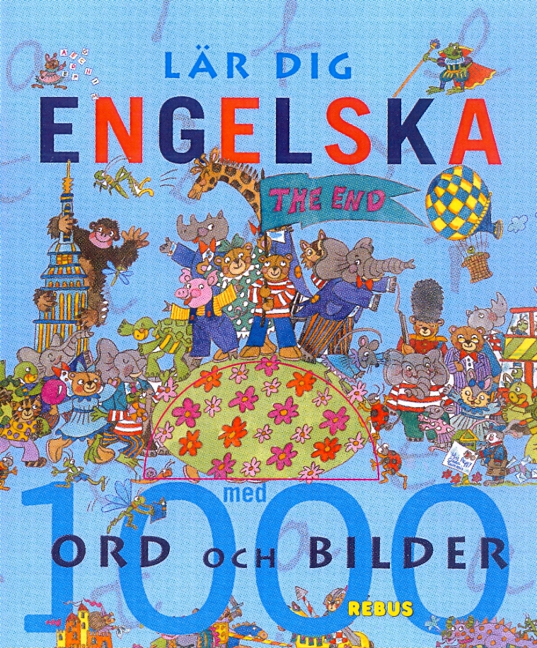 Lär dig engelska 1000 ord och bilder