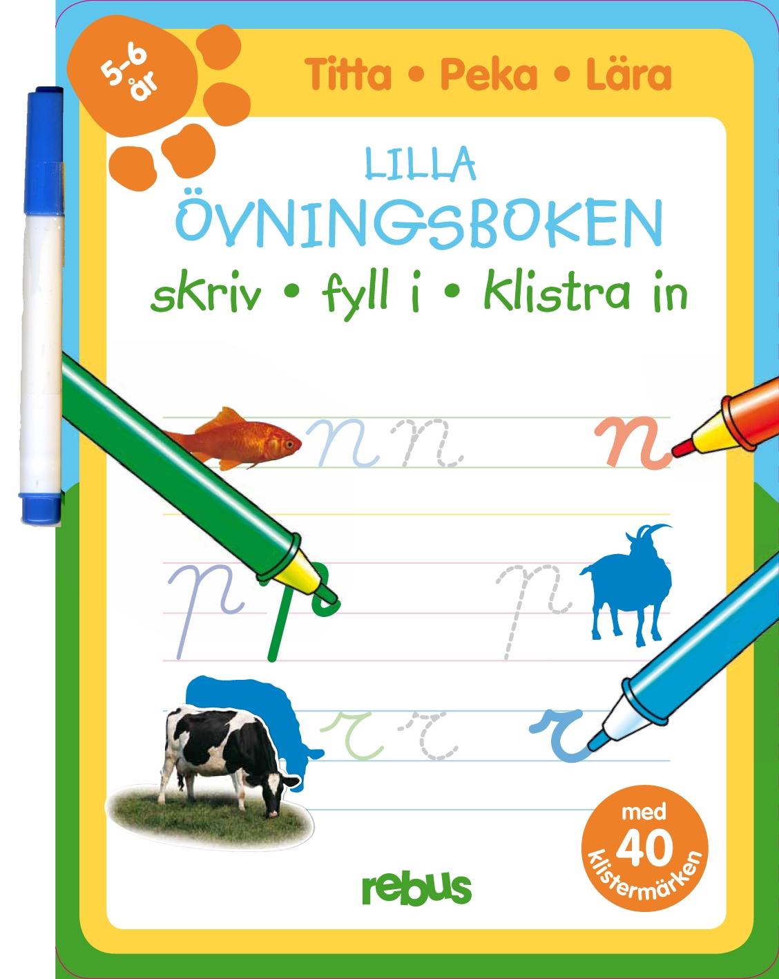 Lilla övningsboken 5-6 år