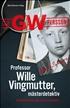 Professor Wille Vingmutter, mästerdetektiv, Persson, Leif G. W.