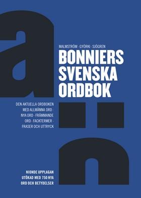 Bonniers svenska ordbok, 9:e uppl
