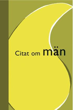 Citat om män