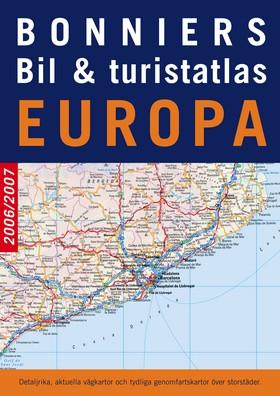 Bonniers bil- & turistatlas Europa 2006/2007
