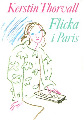 Flicka i Paris