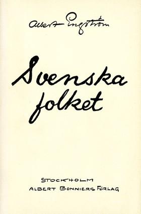 Svenska folket