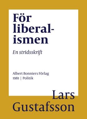 För liberalismen