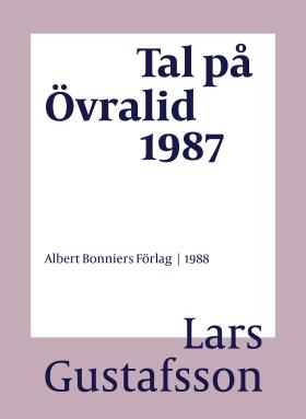 Tal på Övralid 1987
