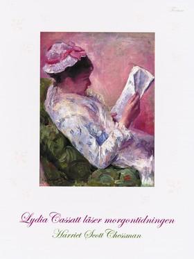 Lydia Cassatt läser morgontidningen