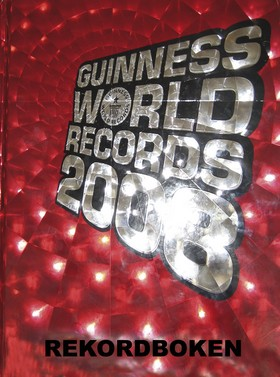 Guinness World Records 2008. Rekordboken