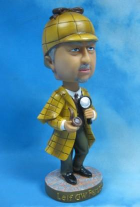 Leif GW Bobblehead-Sherlock edition